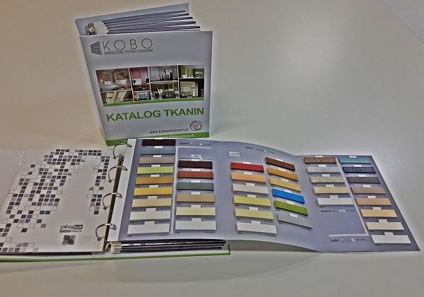Katalogi Tkanin Plisowanych LUX 1