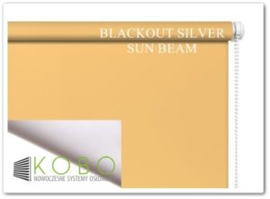 Blackout Silver Sun Beam KOBO
