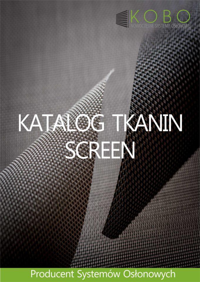 ROLETY ZEWNĘTRZNE I WEWNĘTRZNE – NOWY KATALOG TKANIN SCREEN !!!
